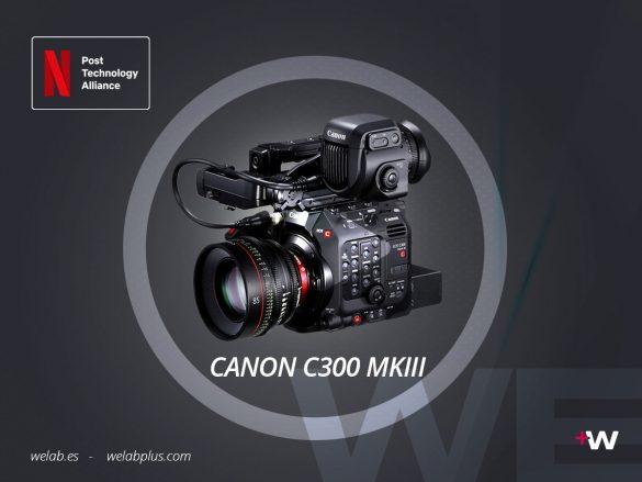 VIDEO CANON EOS C300 MKIII WELAB PLUS