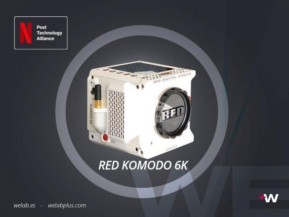 VIDEO EXPLICATIVO RED KOMODO 6K WELAB PLUS