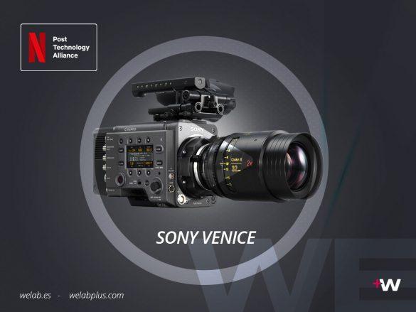 VIDEO EXPLICATIVO SONY VENICE WELAB PLUS