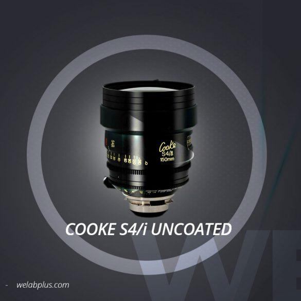 VIDEO LENTE COOKE S4i UNCOUTED WELAB PLUS