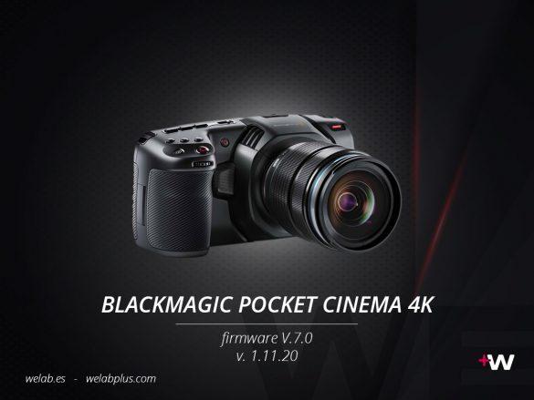 GUIA BLACKMAGIC POCKET CINEMA 4K WELAB PLUS