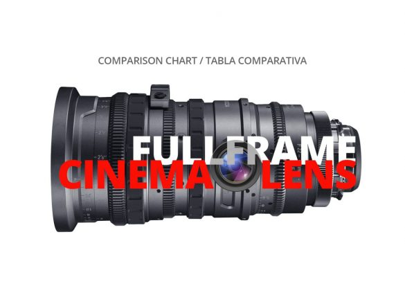 FULLFRAME CINEMA LENS COMPARISON CHART WELABPLUS