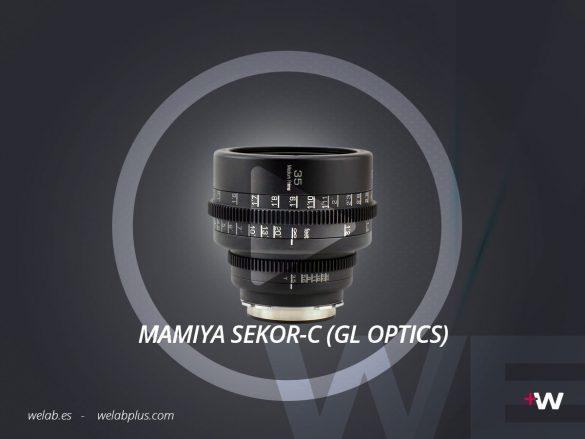 VIDEO MAMIYA SEKOR C GL OPTICS WELAB PLUS