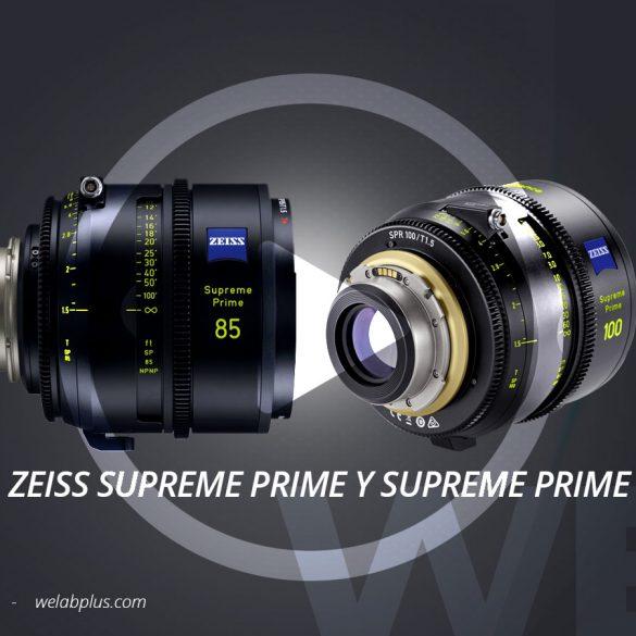 VIDEO ZEISS SUPREME PRIME Y SUPREME PRIME RADIANCE WELAB PLUS