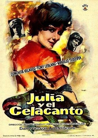 cartel Julia y el Celacanto