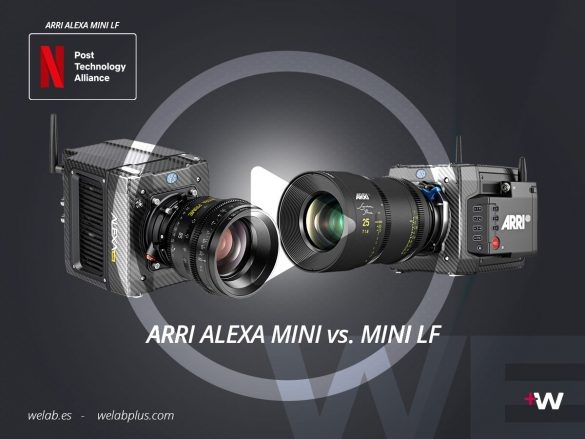 VIDEO COMPARATIVO ENTRE ARRI ALEXA MINI Y ALEXA MINI LF