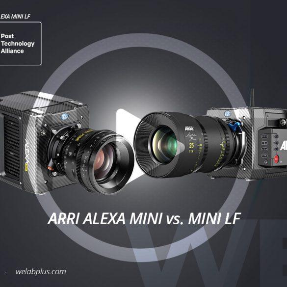VIDEO COMPARATIVO ENTRE ARRI ALEXA MINI Y ALEXA MINI LF