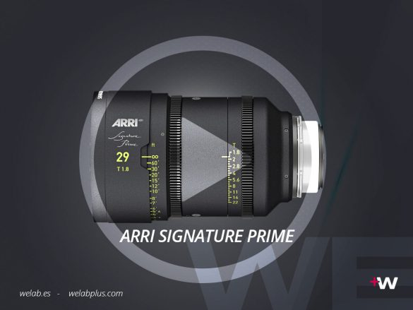 VIDEO ARRI SIGNATURE PRIME WELAB PLUS