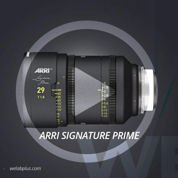 VIDEO ARRI SIGNATURE PRIME WELAB PLUS