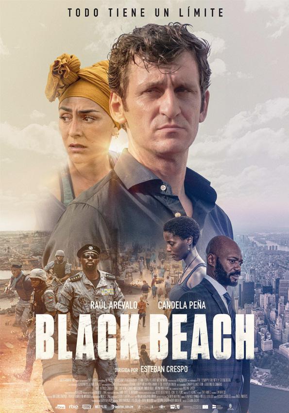 Black Beach rodada con equipos Welab