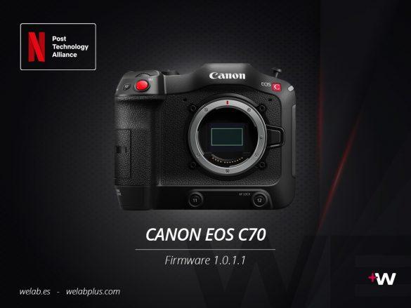 CAMARA CANON EOS C70 WELAB PLUS