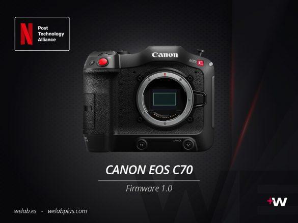 CÁMARA CANON EOS C70 WELAB PLUS