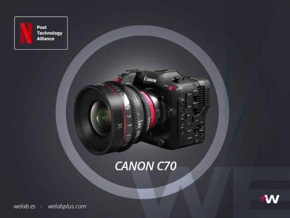 VIDEO CANON EOS C70 WELAB PLUS