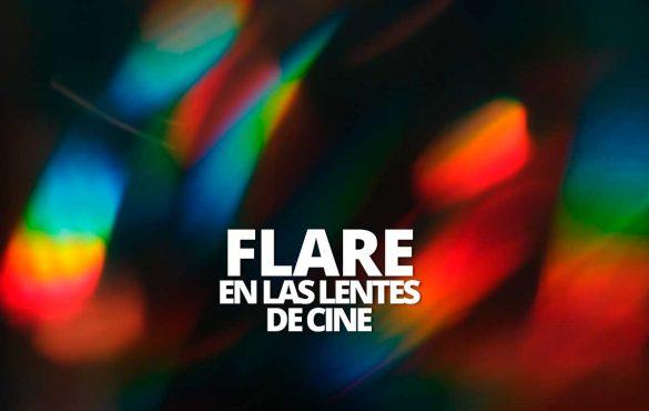 Flare en las lentes de Cine Welab Plus