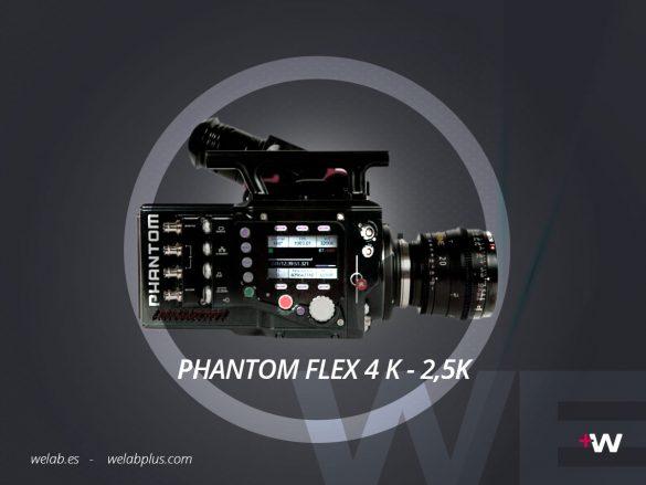 VIDEO PHANTOM 4K Y 2K WELAB PLUS