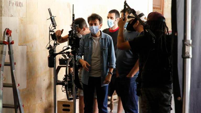asistentes de cámara rodaje covid