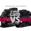 COMPARATIVA CANON C300 MKII VS CANON C300 MKIII WELAB PLUS