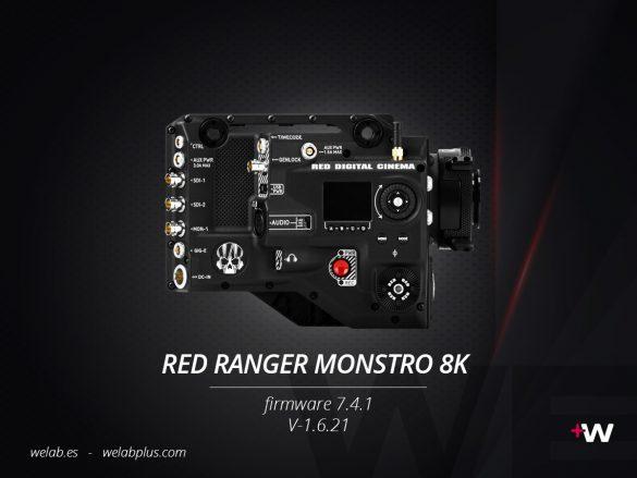 GUIA RED RANGER MONSTRO 8K WELAB PLUS