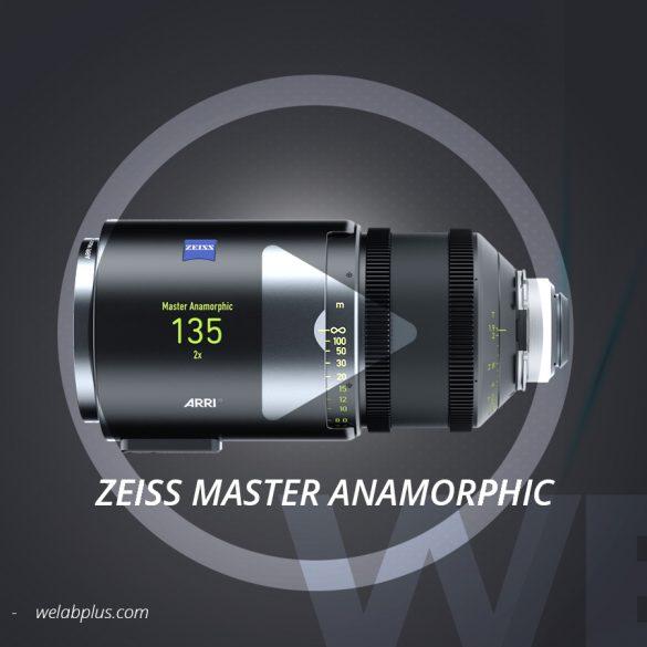 VIDEO LENTES ARRI ZEISS MASTER ANAMORPHIC WELAB PLUS