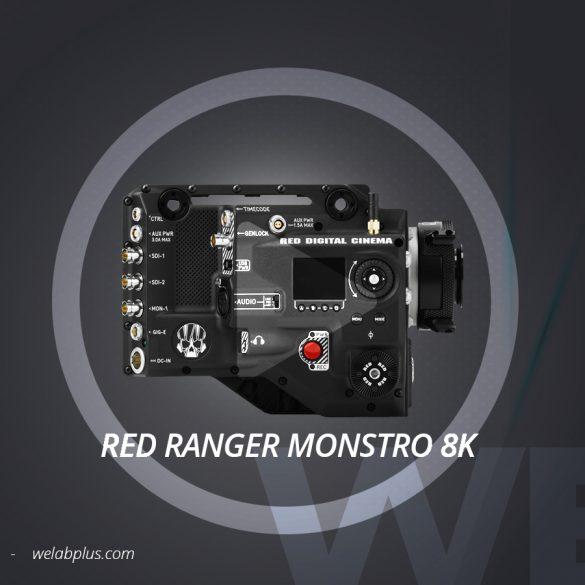 VIDEO RED RANGER MONSTRO 8K WELAB PLUS