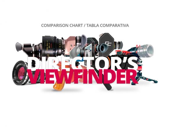 COMPARATIVA DIRECTORS VIEWFINDER COMPARISON CHART WELAB PLUS