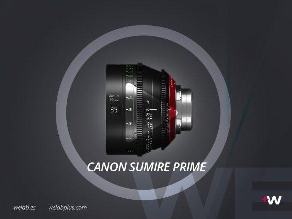 VIDEO LENTE CANON SUMIRE PRIME WELAB PLUS