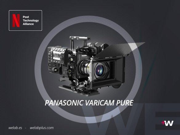 VIDEO PANASONIC VARICAM PURE WELAB PLUS